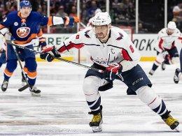 Ovechkin führt Caps mit Rekordtor zum Sieg