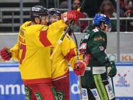 DEG führt in Serie gegen Augsburg - Köln verkürzt