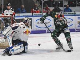Augsburg nutzt Heimvorteil spät - Adler unaufhaltsam