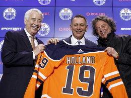 Neuer GM: Oilers verpflichten Detroits Meistermacher Holland