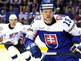 Slowakei schlägt die USA - Niederlage für Titelverteidiger Schweden