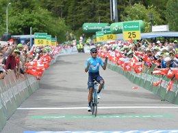 Porte weiter in Gelb - Etappensieg für Quintana