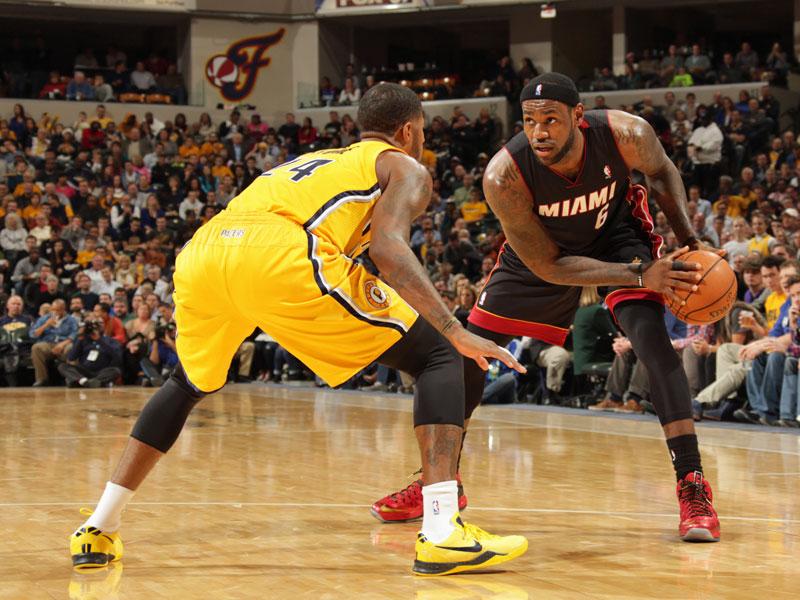 Pacers Gegen Heat