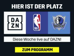 Nowitzkis letztes Spiel: Die NBA live bei DAZN