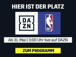 Die NBA-Finals live bei DAZN