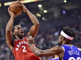 Leonard entscheidet das Topspiel - Curry meldet sich zurück