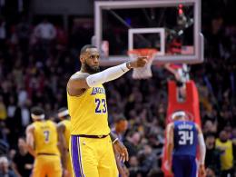 LeBron meldet sich zurück - Sixers beenden Warriors-Serie