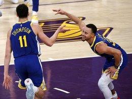 Auch ohne Durant: Warriors stoppen Rockets!