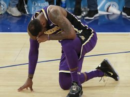 Pleite bei den Knicks: Nächste Demütigung für die Lakers