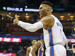 Westbrooks verrücktes Triple-Double - Warriors wie immer