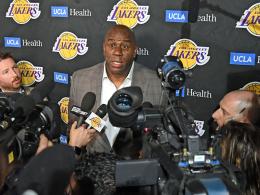 Lakers geschockt: Magic Johnson wirft als Präsident hin