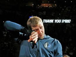Das war es dann wirklich: Nowitzki weint zum Abschied