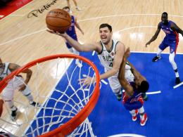 Bucks-Sweep gegen Detroit - Utah lebt - Suns wechseln Coach