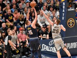 Spurs vergessen zu foulen - Kawhi zu viel für Philly