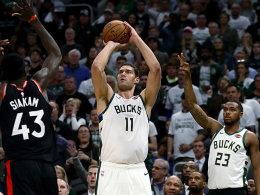 1:0 Bucks: Lopez stellt Giannis in den Schatten