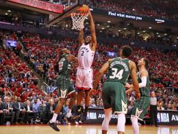 Der Bank sei Dank: Toronto gleicht gegen Milwaukee aus