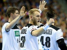 Deutsche Handballer bereit für die WM-Hauptrunde in Köln