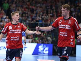 Flensburg sichert Platz drei durch Remis gegen Nantes