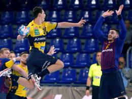 Löwen unterliegen Barcelona und treffen auf Nantes