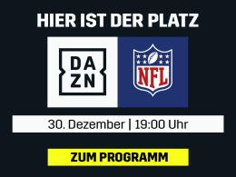 Alle NFL-Entscheidungen live: Die Redzone bei DAZN