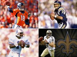 Yard-Könige: Brees schnappt Manning, Brady auf der Jagd