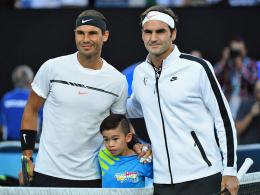 Federer lässt Nadal keine Chance - Sharapova siegt