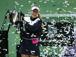 Wozniacki feiert ihren größten Karriere-Erfolg