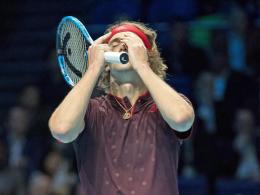 Bittere Dreisatz-Niederlage: Zverev verpasst Halbfinale