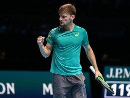 Federer geschlagen: Goffin im Finale