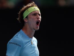Alexander Zverev führt Davis-Cup-Aufgebot an