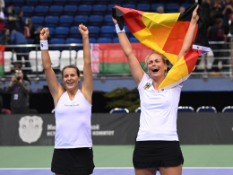 Halbfinale! Deutschen Damen gelingt Fed-Cup-Coup
