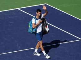 Kohlschreiber in drei - Kurz-Comeback von Djokovic