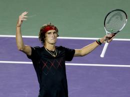 Zwei Sätze - Zverev steht in Miami im Halbfinale