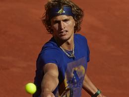 Zverev eröffnet gegen Ferrer - Nadal dabei