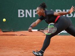 Serena Williams zieht vor Achtelfinale zurück