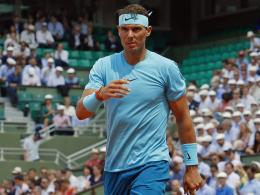Regen und Dunkelheit: Nadal-Match vertagt