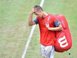 Kohlschreiber auf Formsuche - Federer mühevoll