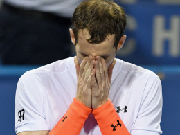 Matchbeginn nach Mitternacht: Murray weint und wundert sich