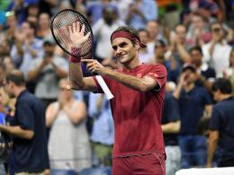 Federer ohne Mühe - Marterer chancenlos ausgeschieden