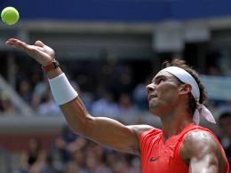 Nadal müht sich erfolgreich - Jetzt gegen Thiem