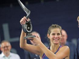 Görges Turniersiegerin in Luxemburg