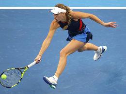 Schwacher Auftakt von Titelverteidigerin Wozniacki