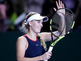 Wozniacki wahrt Halbfinalchance - Sieg für Svitolina