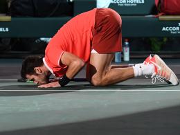 Khachanov beendet Djokovics Siegesserie