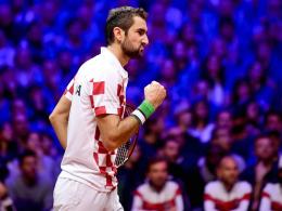 Cilic führt Kroatien zum zweiten Davis-Cup-Triumph