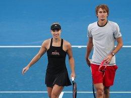 Kerber und Zverev schielen auf den Finaleinzug