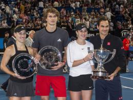 Zverev veralbert Federer: