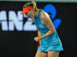 Titelverteidigerin raus! Sharapova schockt Wozniacki