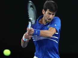 Djokovic setzt sich durch - Nishikori-Krimi