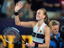 Osaka und Kvitova erreichen das Endspiel